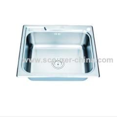 Single Bowl Stainless Steel Kitchen Sinks