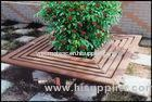 WPC Movable Railing Flower Pot for Park Bench and Outdoor Furniture