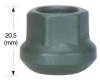 Black Wheel Lug Nut