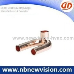 Air Conditioner Copper Tripod Fitting