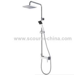 Wall Mounted Exposed Shower Faucet with Shower Kit OEM/ODM services