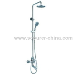 Hot selling ! Wall Mounted Exposed Shower Faucet with Shower Kit