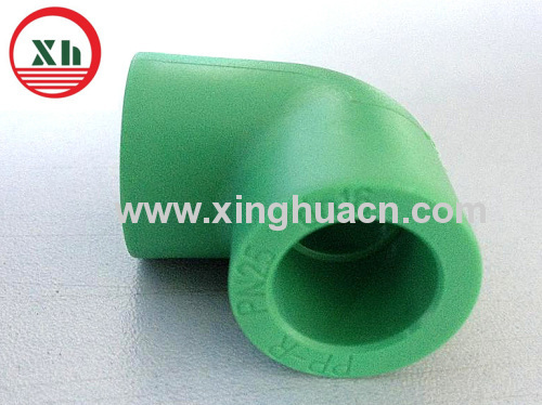 PPR all plastic fittings 90 degree elbow