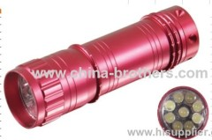 Led mini torh gift flashlight Super-bright 9 LED bulb flashlight