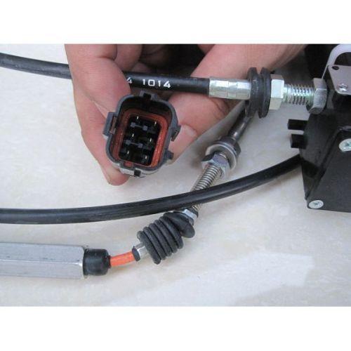 throttle motor ass'y for R220-5 short line throttle motor