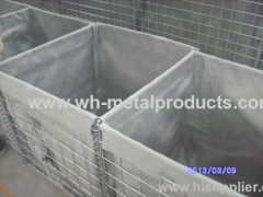 wire mesh defence barrier of camps and facilities