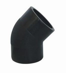 2013 hot sale PE Butt Welding Fittings PE Elbow 45D