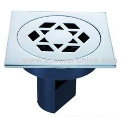 Plummeting Brass Floor Drain
