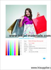 150mic Matte PP Paper