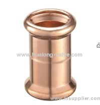 copper press fittings Coupling copper fitting