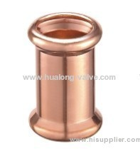 EN1254 copper press fittings Slip coupling