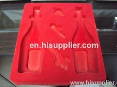 SpecificationsPs and pvc Plastic Blister Flocking Tray