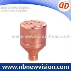 Copper Strainer with Stop Ring