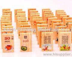 Hot stamping foils for children beach domino toy /Children toys