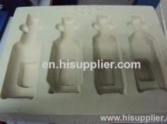 Plastic Flocked Packaging Tray