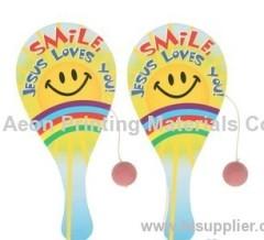 Hot stamping foils for children beach racket toys /Children beach toys