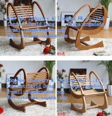 wooden rocking chair leisure