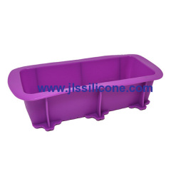 new silicone bread loaf bakeware molds