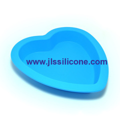 silicone heart cake bakeware moulds