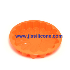 Waterproof silicone pizza baking pan