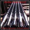 Extruder screw and barrel