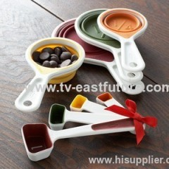 8PCS Collapsible Measuring Spoons