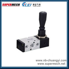 4H Series 3 Position 5 Way Hand Level Valve With Nnt
