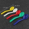 Ice Cream Spoon Dessert Spoon Plastic Spoon Kitchen Sauce Spoon