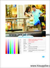 190mic high density coated original PP Paper