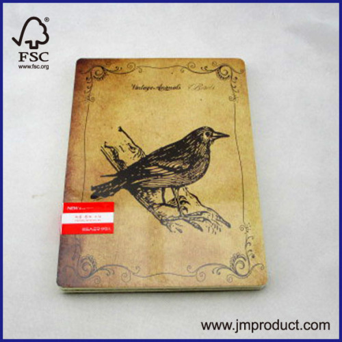 animal cover soft notebook