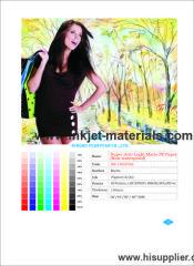 180mic Matte PP Paper Non-waterproof