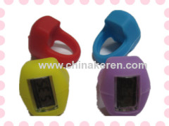 Fashion Multifunction silicoen nger ring wetch