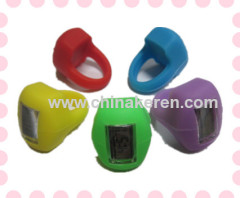Non-toxic fashion silicone led watch