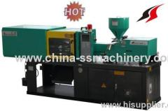 Test color injection molding machine