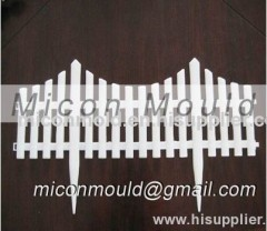 plastic injection garden fence mould