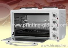 Heat transfer film for oven