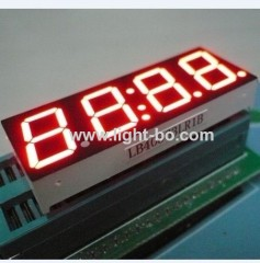 "four digit 0.56"" 7 segment led clock display;LED clock disp;"