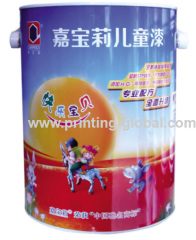 Thermal Transfer Sticker For PP Paint Bucket