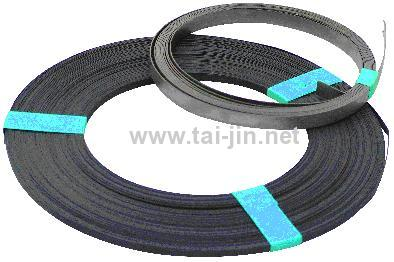 Ir-Ta Oxide Coated Titanium Ribbon Anode