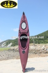 touring kayak single sit in used on white water and sea