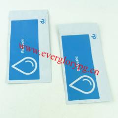 sterile ziplock resealable aluminum foil pouch