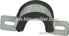 China Rubber Cushioned Pipe Clamp Manufacturer