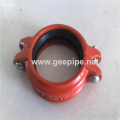 FM UL Approved Grooved Fitting Pipe Coupling
