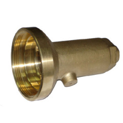 high pressure brass tube pipe fitting