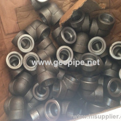 forged socket welded 90° elbow ASTM A 694 F42 made in china