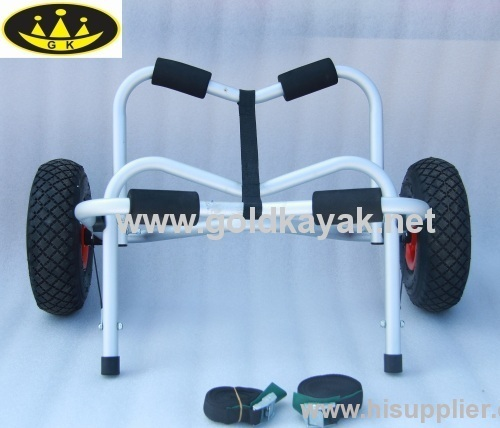 kayak trolley cart with aluminum alloy material