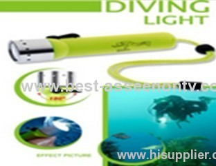 LED Diving Flashlight Torch Lamp