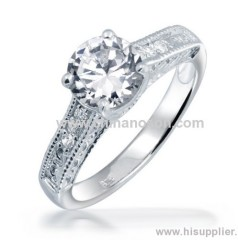 Women diamond ring for wedding