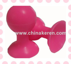 sell hot pink silicone bracket