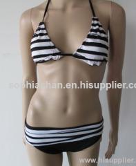 Stripe Printed Sexy Bikini